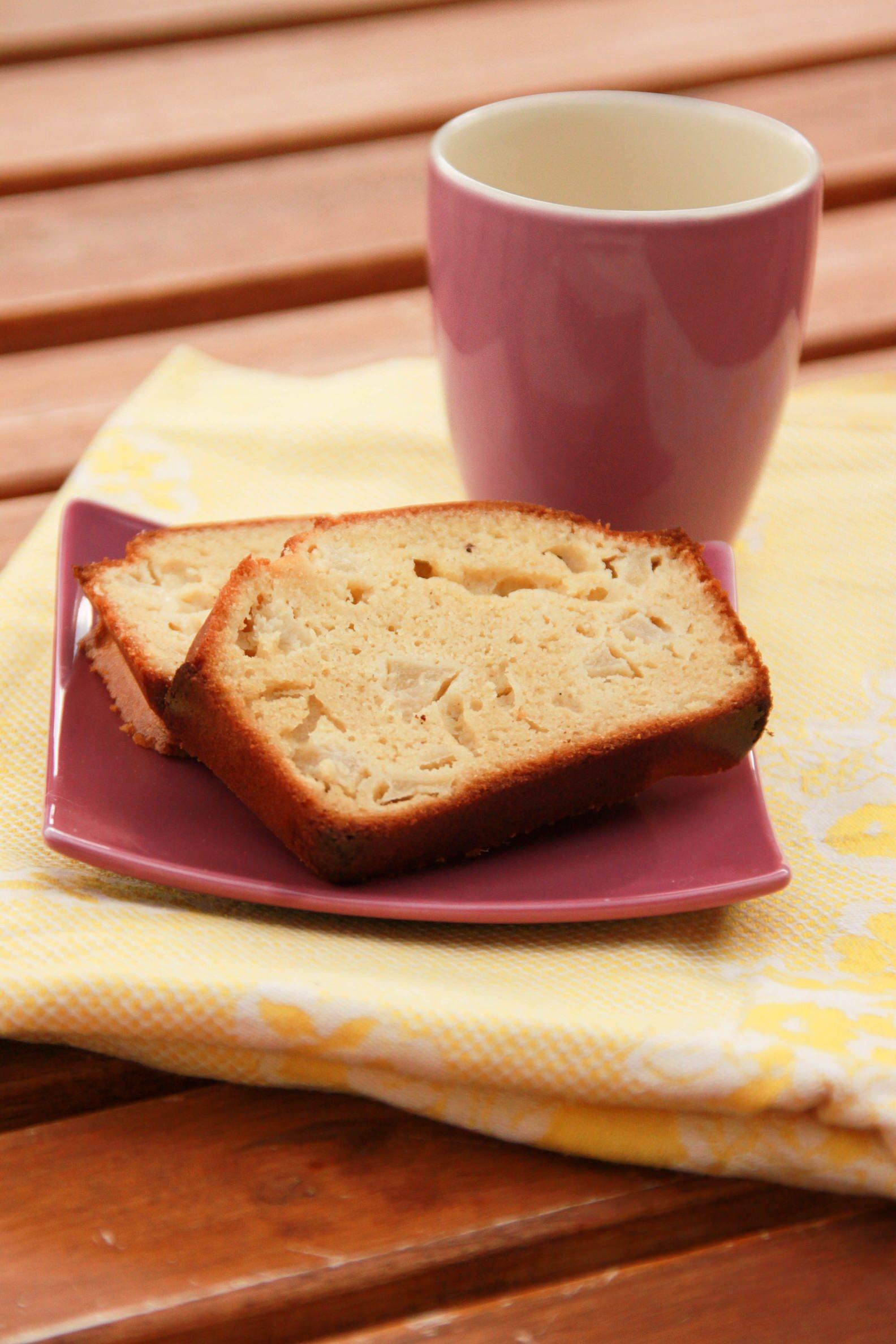Cake sucré sans gluten et sans lactose
