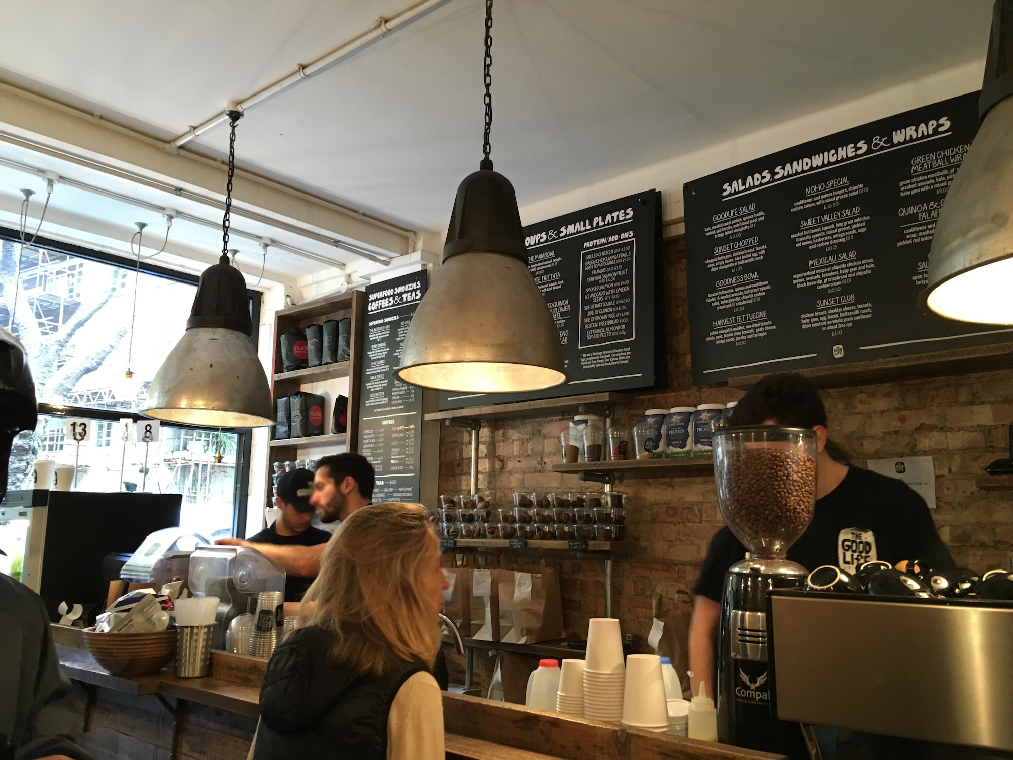 The Good Life eatery - gluten free-Londres