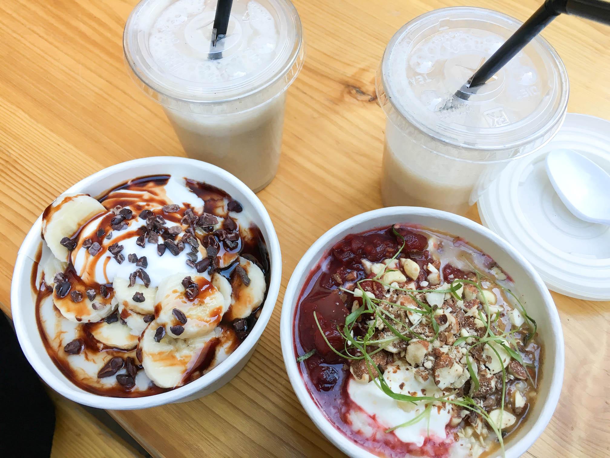 Porridge bio sans gluten et sans lait vegan Londres