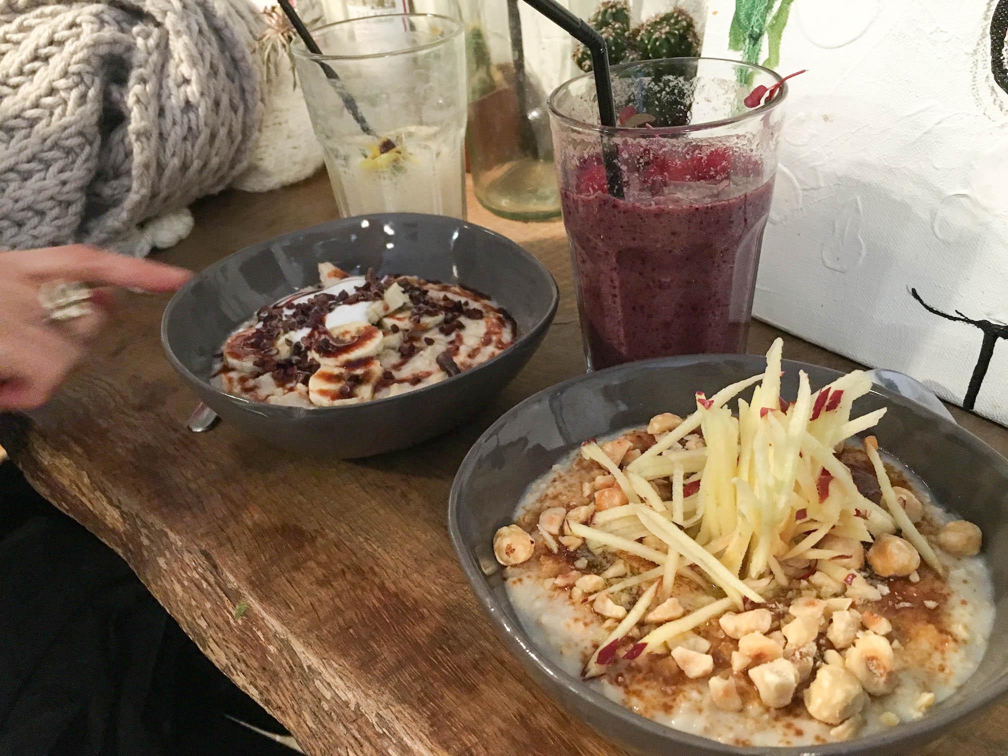 Porridges bio sans gluten vegan