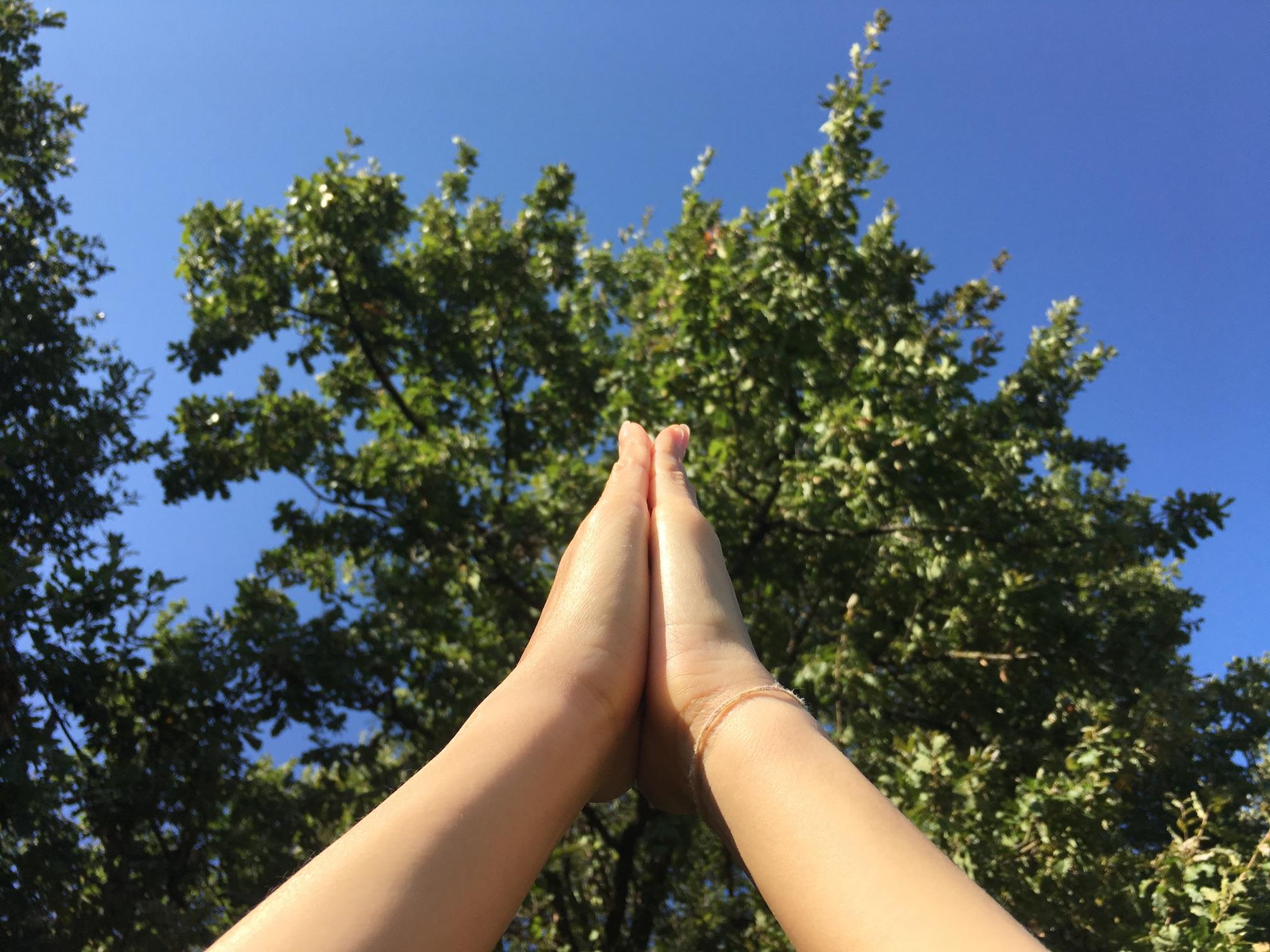 Réveil énergétique/Yoga dans le jardin