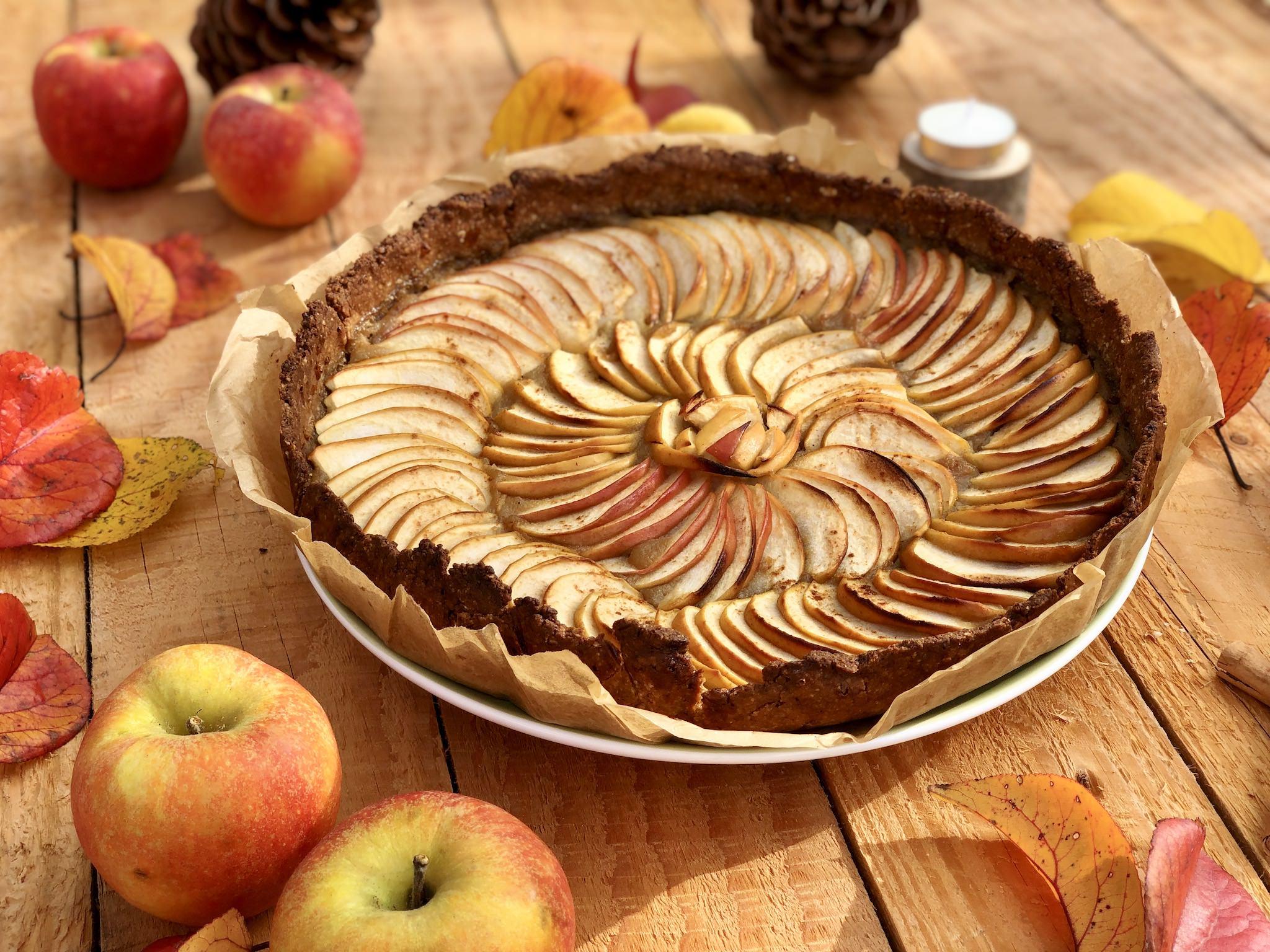 Tarte aux pommes et à la cannelle ultra facile et rapide à faire !